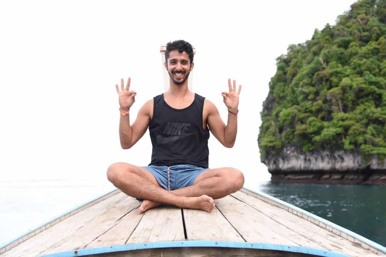 ליאור צברי - טיסה לתאילנד